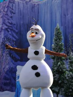 Olaf at Hollywood Studios!