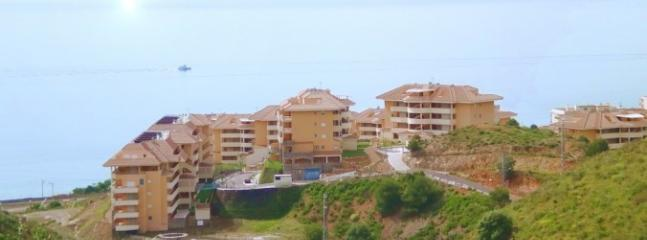 Apartment complex overlooking ocean