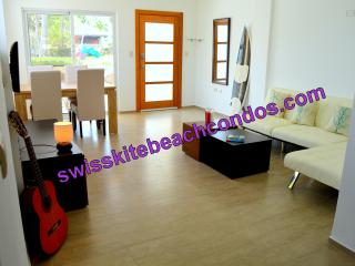 Swiss Kite Beach Condo - 2 bed - 10 steps to beach