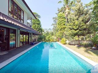 Tranquil 2-Story Retreat: Paddies, Central, Views, Ubud