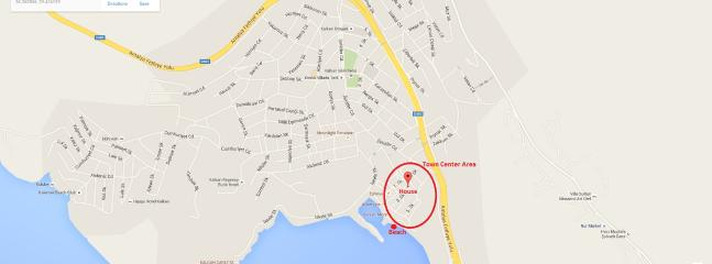 Our location is extremely close to shore and also in Town center
