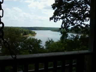 Spectacular Lake View from Kilmer's Log Cabin, Urbana