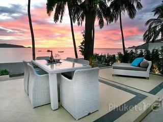 Beachfront 2-Bed Villa in Kalilm, Patong