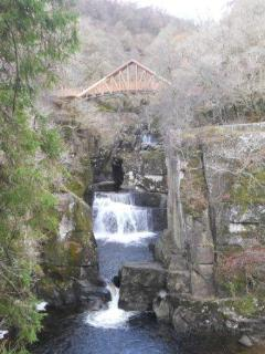Bracklin Falls, just a short walk from the cottage