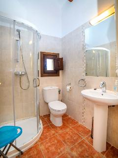Shower room with w.c.