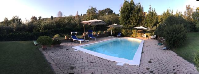 Panoramic view from the swimming pool