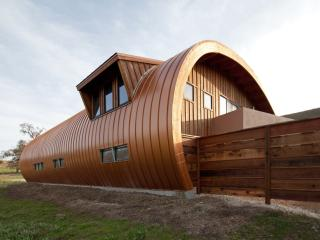 Amazing Round Barn