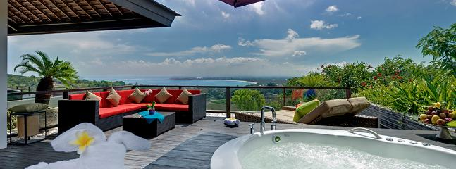 Villa Aiko - View from Jacuzzi