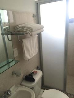 Baño con ducha privada