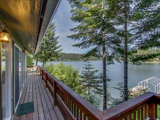 Private, dog-friendly home w/ dock and great waterfront views!