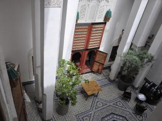 Dar 7 Louyat - XVth c. riad - a haven of peace, Fès