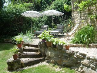 One of the many places in the garden to relax and unwind