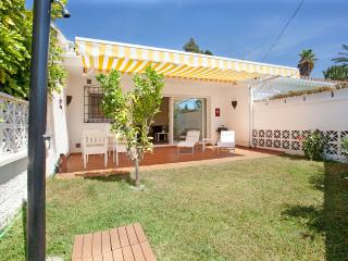 Beachside semi detached house with private garden, Marbella