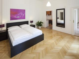 Vaclav Suite 11/41 apartment in Nove Mesto with WiFi & lift.