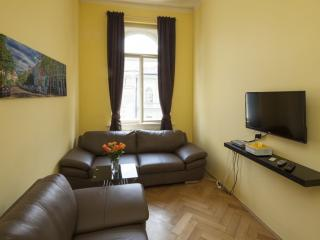 Vodickova Suite 8 apartment in Nove Mesto with WiFi & lift.
