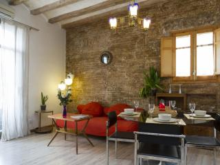 Pintor III apartment in El Borne with WiFi, air conditioning, roof terrace & bal