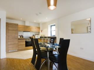 City Reach 2B apartment in Hammersmith with WiFi, balcony & lift.