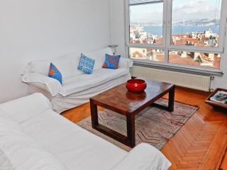 Spacious Cihangir apartment in Beyoğlu with WiFi, balkon & lift.