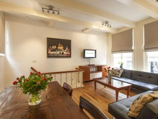 Spacious Old Masters apartment in Canal Belt with WiFi & private garden.