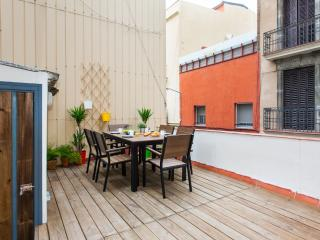 Gracia Terrace apartment in Gracia with WiFi, airconditioning & privéterras.
