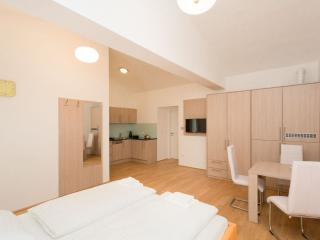 Koller Orange Studio apartment in 03. Landstraße with WiFi & lift., Viena