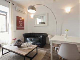 Sant Antoni Calm apartment in Poble Sec with WiFi, airconditioning, balkon