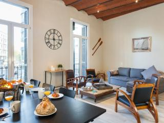 El Ensueño apartment in Eixample Esquerra with WiFi, airconditioning & balkon.