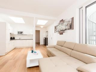 Vereins Loft Deluxe apartment in 02. Leopoldstadt with WiFi, airconditioning, privéterras & lift., Viena