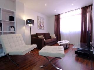 Del Pabellon apartment in Ciutat Arts i Ciencies with WiFi, integrated air condi