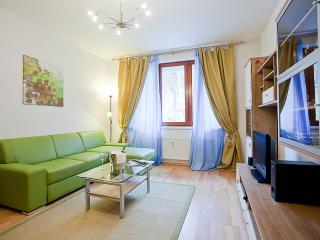 Radlicka Woods apartment in Smichov with WiFi, private parking & lift.