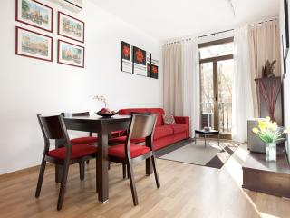 Sant Joan Terraza apartment in Eixample Dreta with WiFi, airconditioning (warm / koud), privéterras…, Barcelona