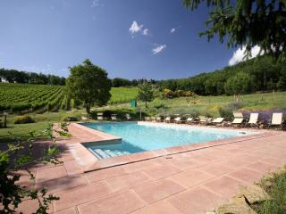 Chianti Sieci I apartment in Chianti Sieci with WiFi, privéterras, privétuin & lift., Florencia