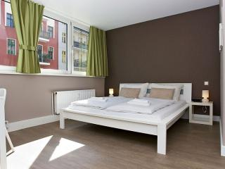 Easy C 1.1 apartment in Kreuzberg with WiFi, shared terrace & lift.