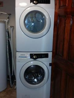 New front loading washer and dryer
