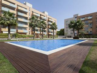 Beach Minimalista apartment in Vila Olimpica with WiFi, airconditioning