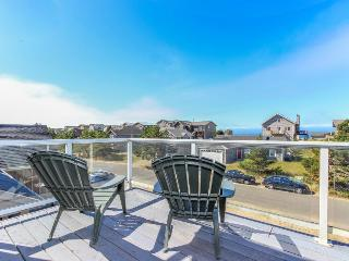 Ocean views, dog-friendly, game room, close to beach & shops