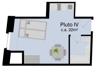 LU Pluto lV - Old town HITrental Apartment, Lucerna