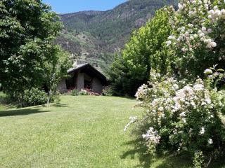 piccolo angolo di paradiso con vista sul M.Bianco, La Salle