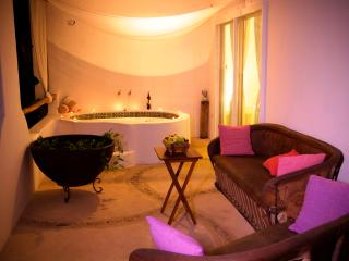Intimate spacious condo with private hot tub, Playa del Carmen
