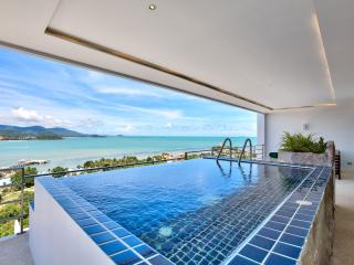 Serene Penthouse: 3 Bed with 180 degree Ocean View, Bophut