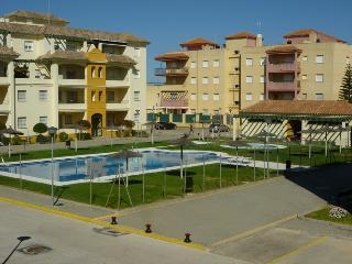 Apartamento en Chipiona con piscina y aparcamiento
