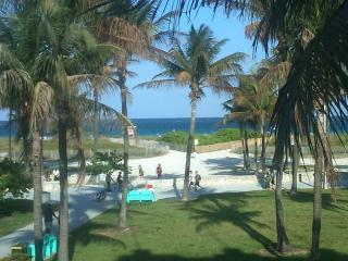 Famous Ocean Drive Beachfront Pad!