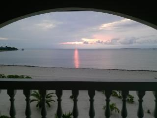 Sunrise view from the balcony