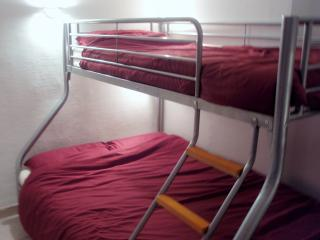 Bedroom with Triple sleeper bed