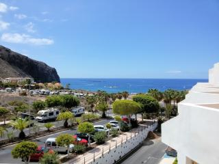 Wonderful view from the terrace to the sea