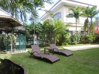 Our garden with beside the clubhouse with gym and swimming pool