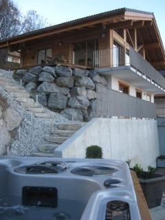 Side of chalet