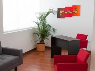 Sala y escritorio