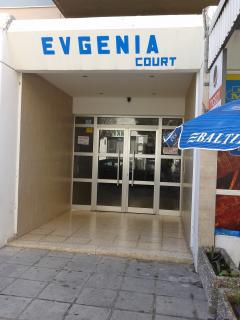 Main Entrance to the building ' EVGENIA COURT'