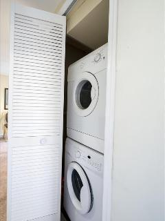 Washer and drying conveniently located on 3rd floor